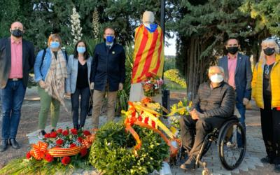 Marc Solsona: Un any més expressem el nostre compromís amb la independència de Catalunya i amb la lluita contra la repressió de l'Estat Espanyol.