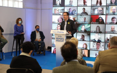 """Marc Solsona: """"Si voleu acabar amb l'abandó de les Terres de Lleida, l'Alt Pirineu i l'Aran, voteu PDeCAT"""""""