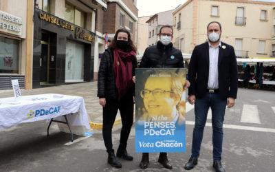 """Els diputats del PDeCAT no investiran cap Govern que no tingui en compte la """"carpeta lleidatana i pirinenca"""", diu Marc Solsona a Bellpuig"""