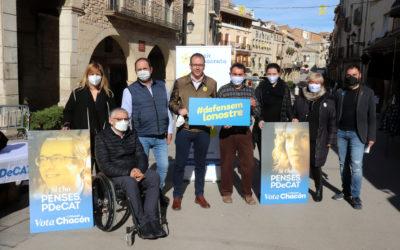 """Marc Solsona: """"No pot ser que a Lleida estiguem reivindicant les mateixes infraestructures que fa vint anys"""""""