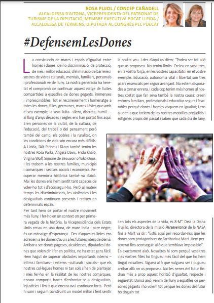 Article 8M a La Mañana (9.3.21)