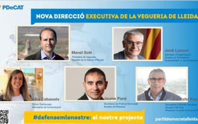 """""""El PDeCAT a la Vegueria de Lleida es renova en un 80% en la nova direcció executiva"""""""