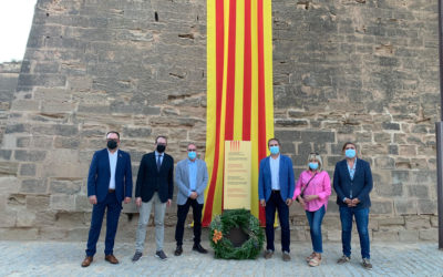 El PDeCAT assisteix a l'acte institucional de la Diada a Lleida, celebrat a la Seu Vella